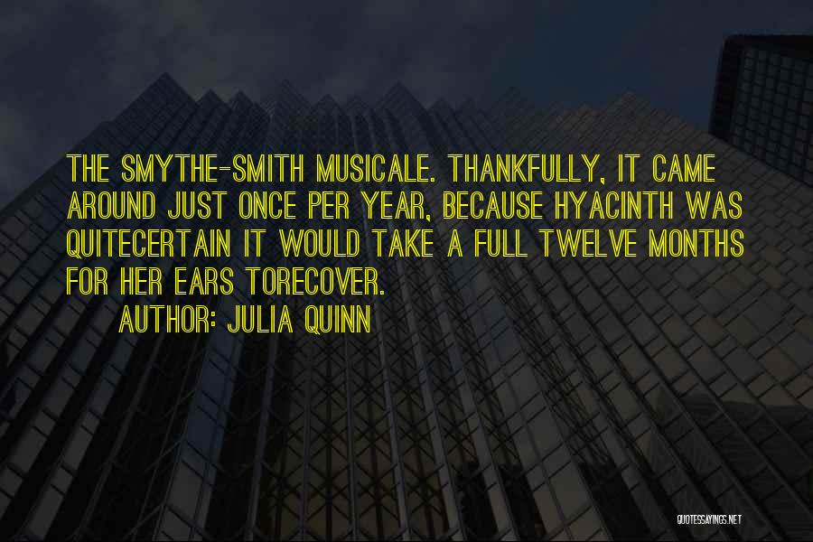Year Twelve Quotes By Julia Quinn