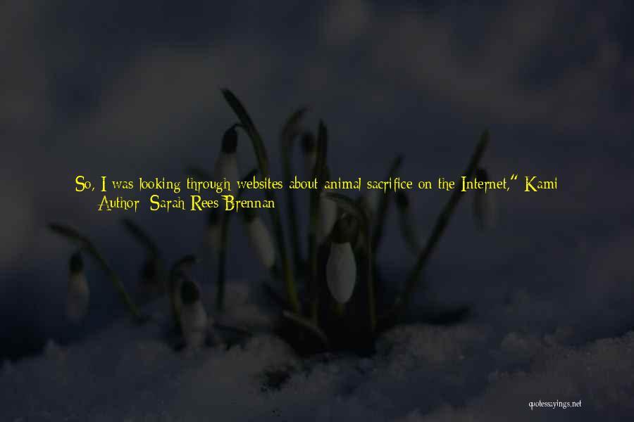 Year Twelve Quotes By Sarah Rees Brennan