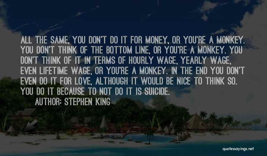 Yearly End Quotes By Stephen King
