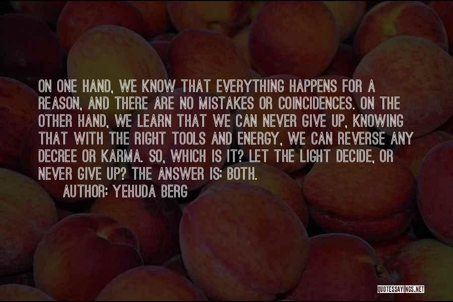 Yehuda Berg Quotes 1450524