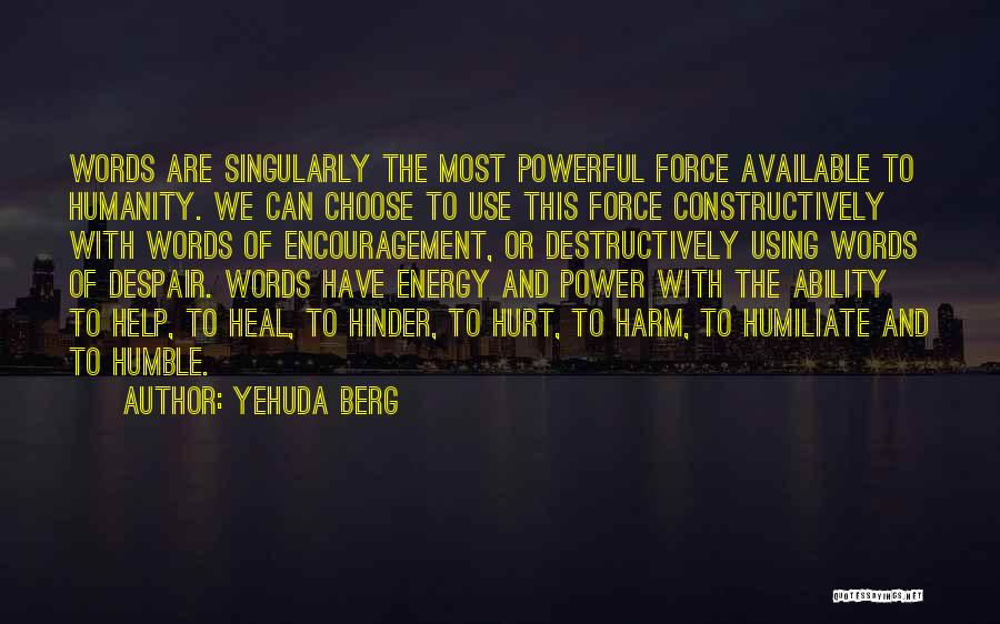 Yehuda Berg Quotes 1597133