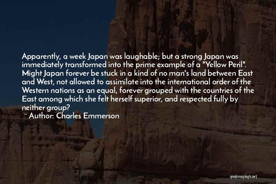 Yellow Peril Quotes By Charles Emmerson