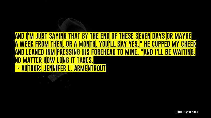 Yes No Maybe Quotes By Jennifer L. Armentrout