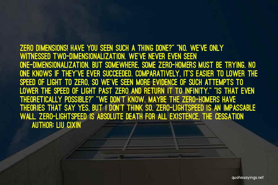 Yes No Maybe Quotes By Liu Cixin