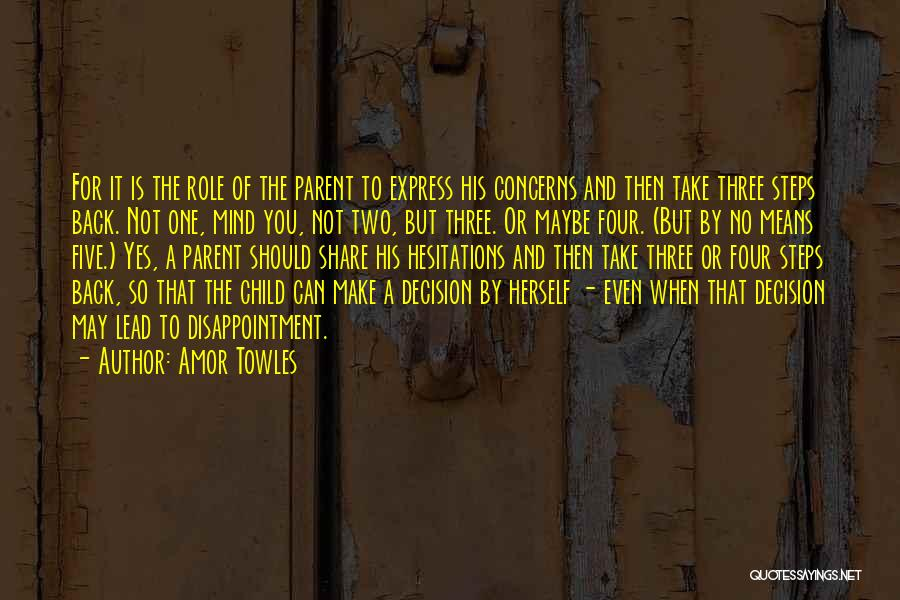 Yes Or No Quotes By Amor Towles