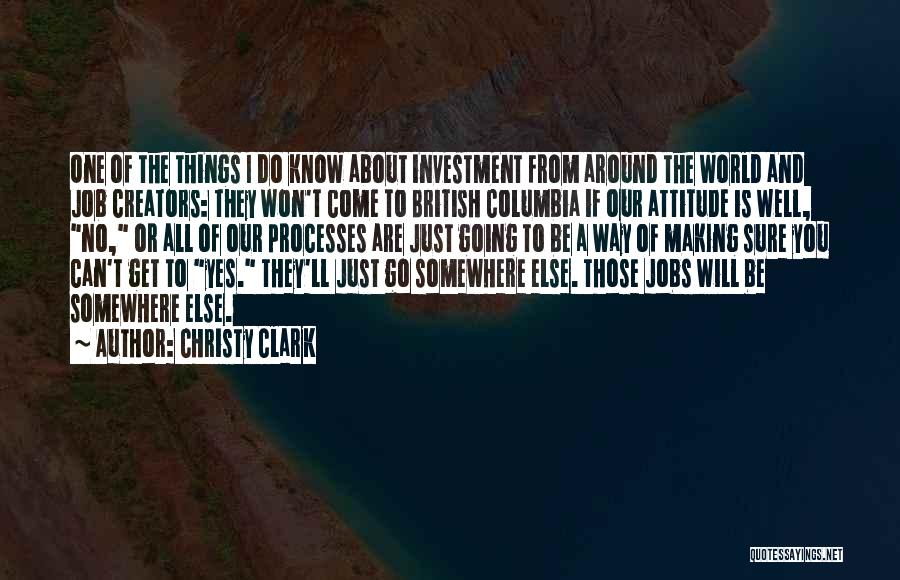 Yes Or No Quotes By Christy Clark