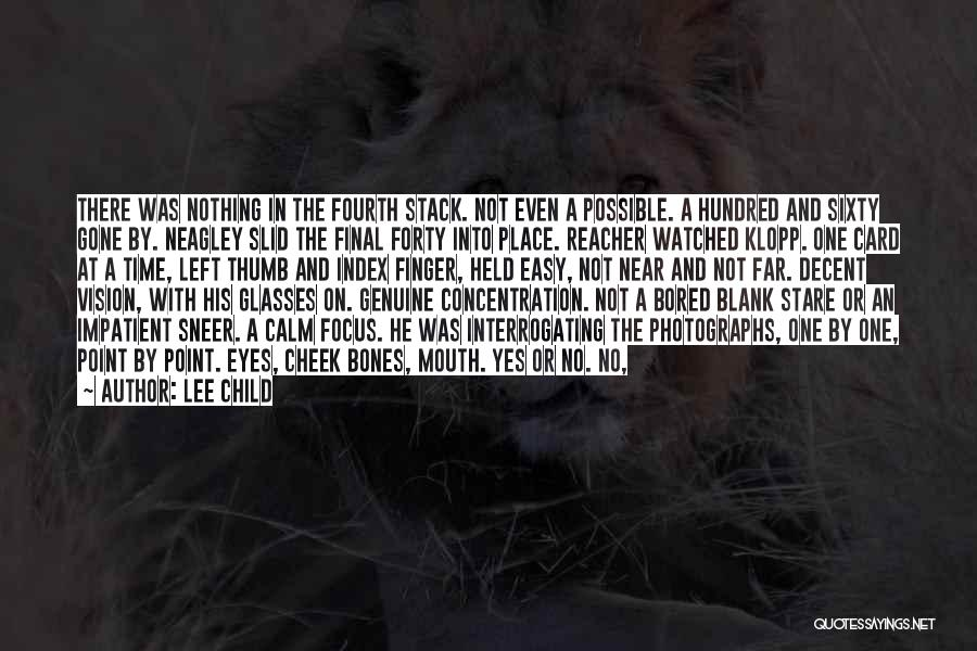 Yes Or No Quotes By Lee Child