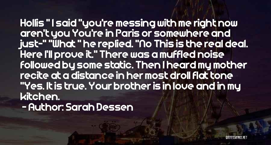 Yes Or No Quotes By Sarah Dessen