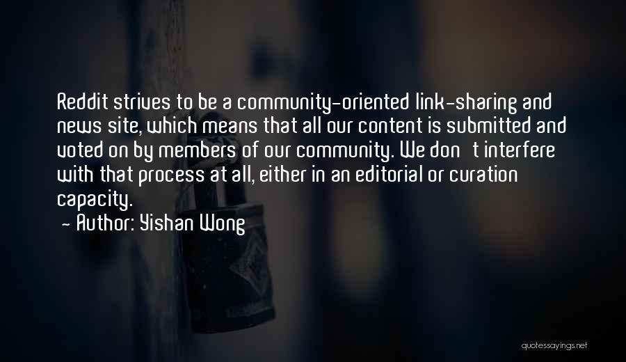 Yishan Wong Quotes 149004