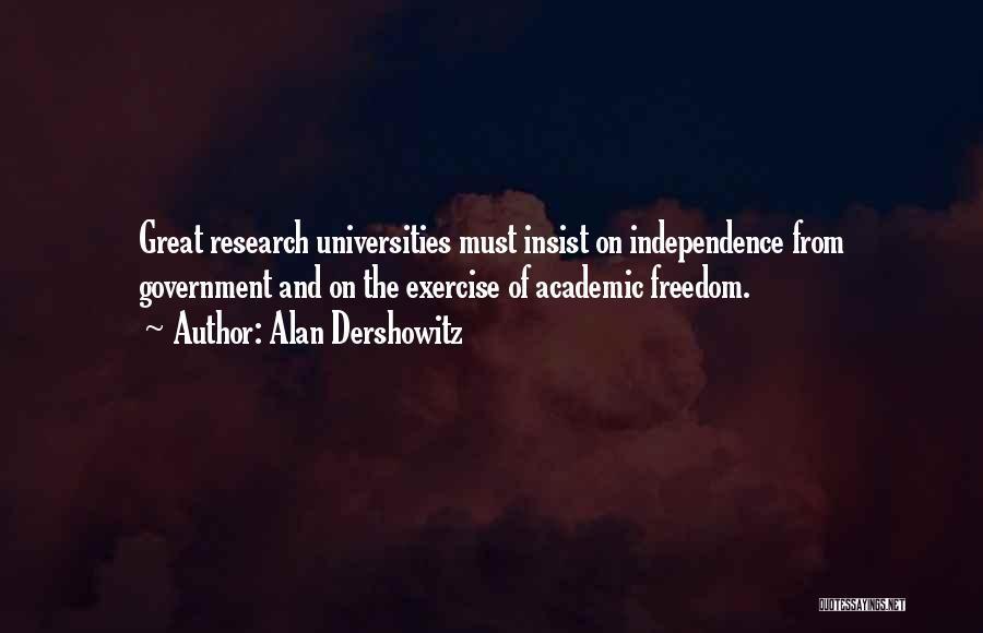 Yoga Barre Quotes By Alan Dershowitz