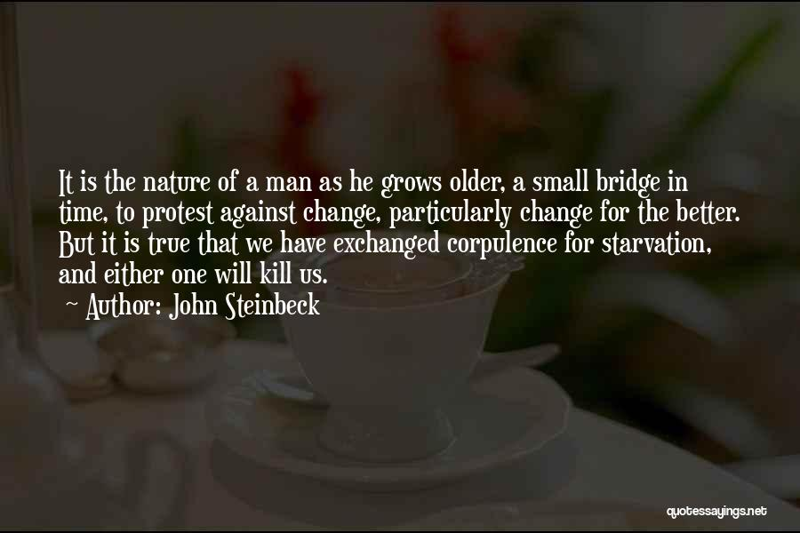 Yoga Barre Quotes By John Steinbeck