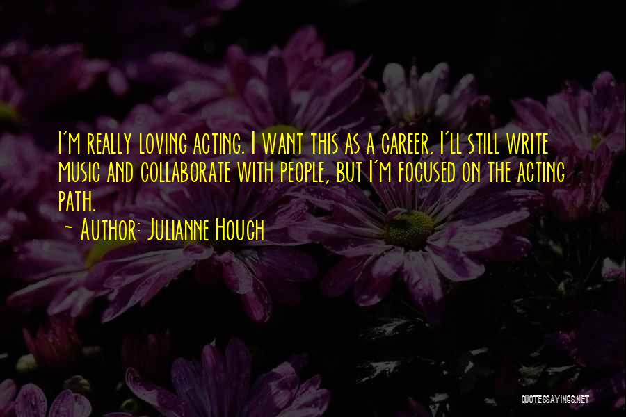 Yoga Barre Quotes By Julianne Hough