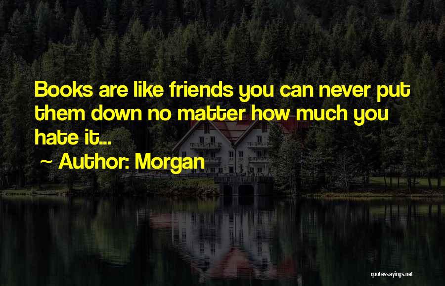 Yoga Barre Quotes By Morgan