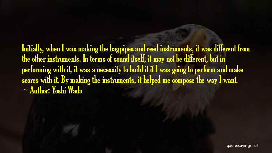Yoshi Wada Quotes 217037