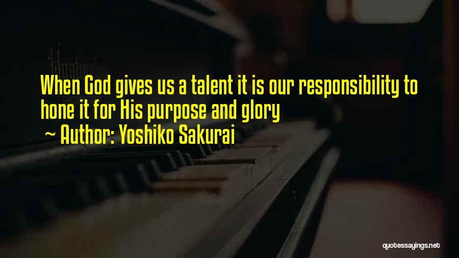 Yoshiko Sakurai Quotes 1825916