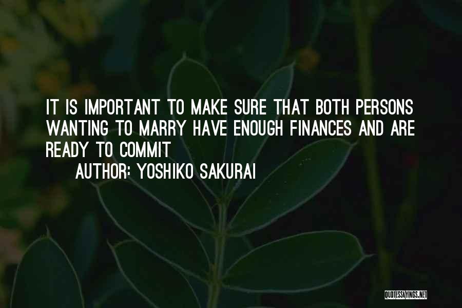 Yoshiko Sakurai Quotes 475553