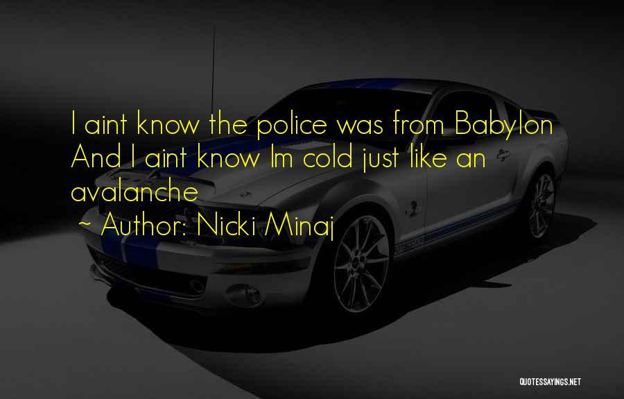 You Aint Mine Quotes By Nicki Minaj