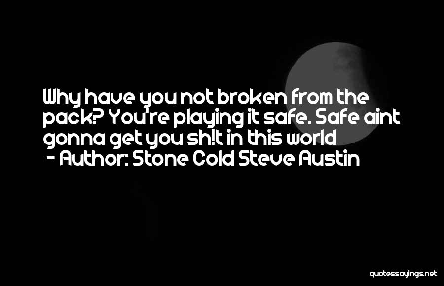 You Aint Mine Quotes By Stone Cold Steve Austin