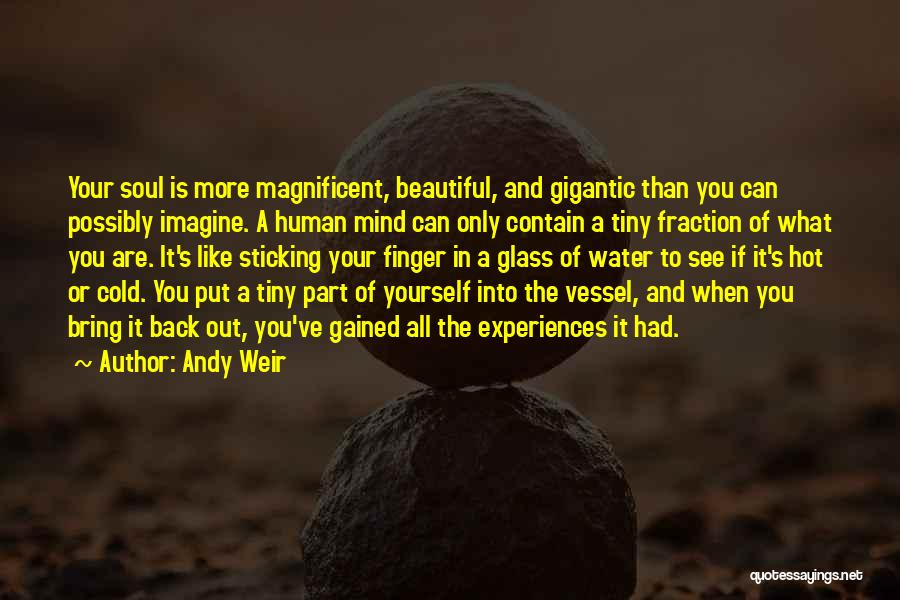 You All Are Beautiful Quotes By Andy Weir