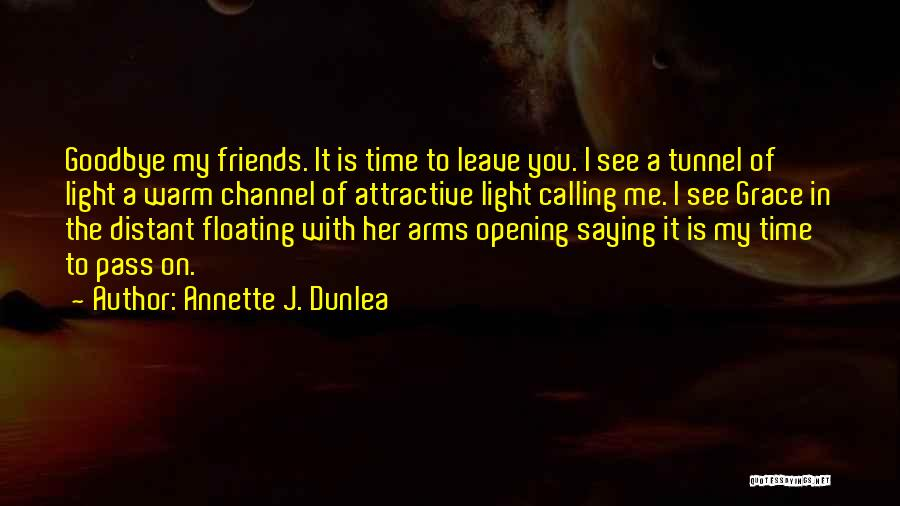 You Always Leave Me Quotes By Annette J. Dunlea