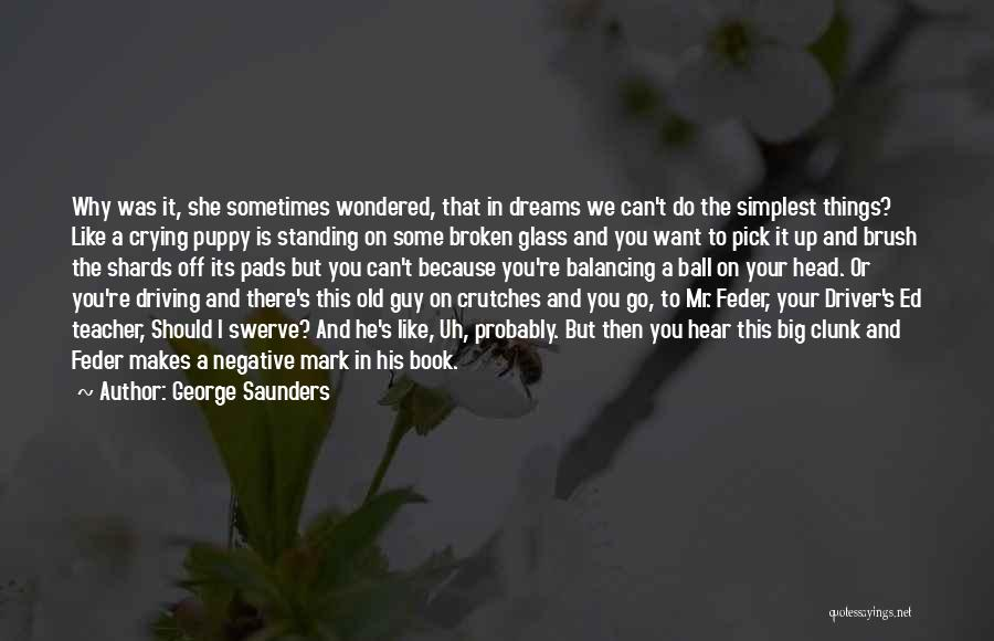 You And Your Puppy Quotes By George Saunders