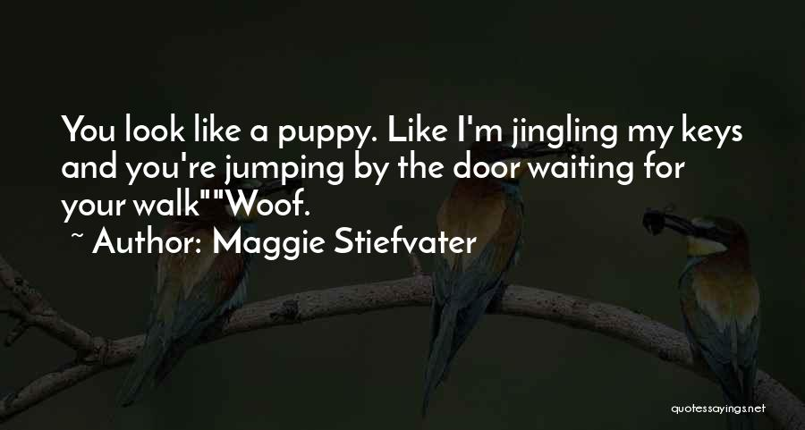 You And Your Puppy Quotes By Maggie Stiefvater