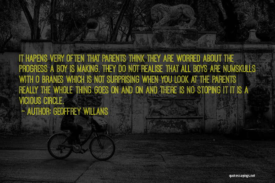 You Are A Circle Quotes By Geoffrey Willans