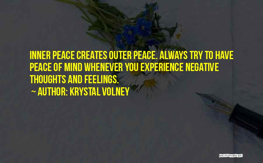 You Are Always In My Thoughts Quotes By Krystal Volney