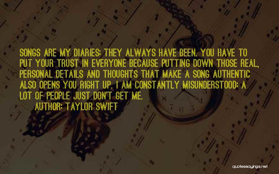 You Are Always In My Thoughts Quotes By Taylor Swift