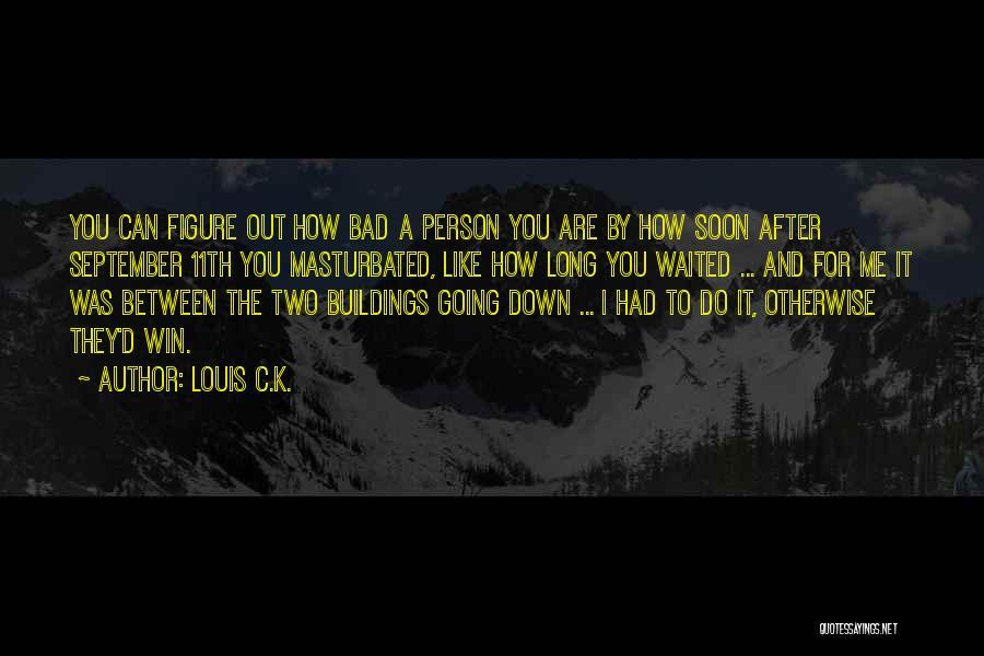 You Are Bad For Me Quotes By Louis C.K.