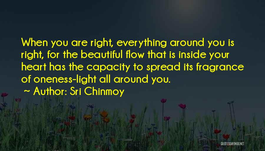 You Are Beautiful Inside Quotes By Sri Chinmoy