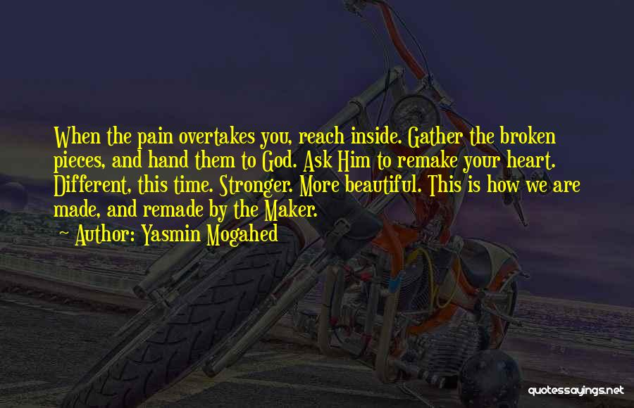You Are Beautiful Inside Quotes By Yasmin Mogahed