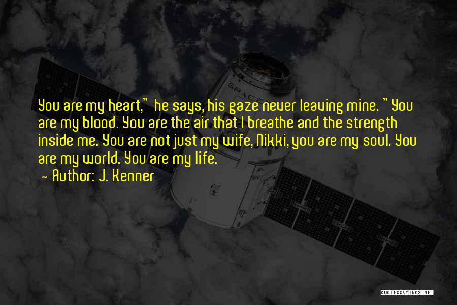 You Are Just Mine Quotes By J. Kenner