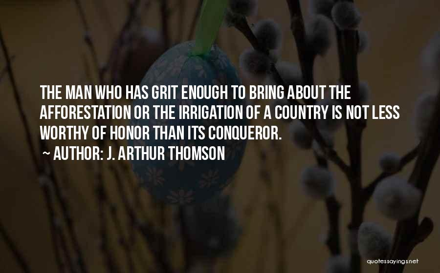 You Are More Than A Conqueror Quotes By J. Arthur Thomson