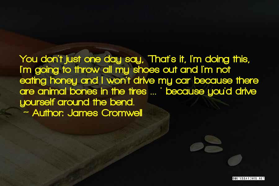 You Are My Honey Quotes By James Cromwell