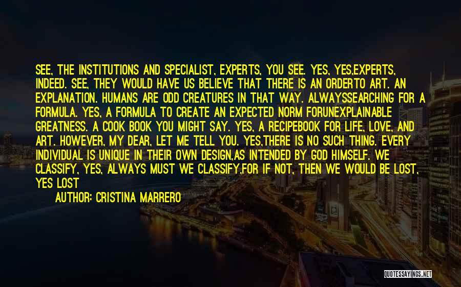 You Are My Love Story Quotes By Cristina Marrero