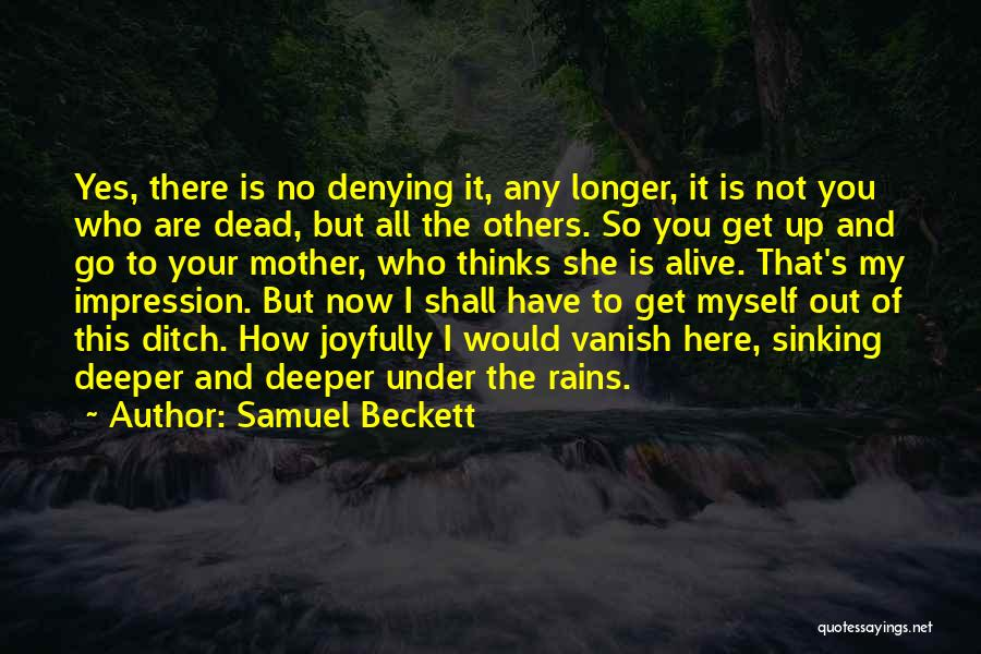 You Are My Mother Quotes By Samuel Beckett