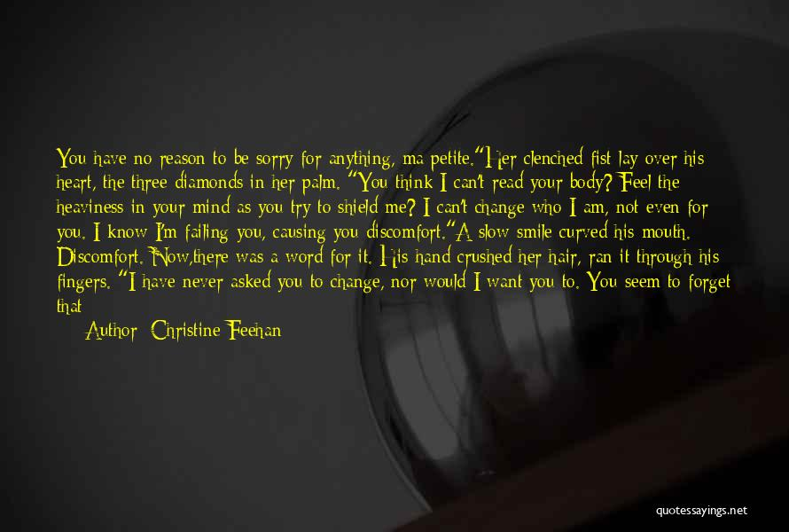 You Are My Shield Quotes By Christine Feehan