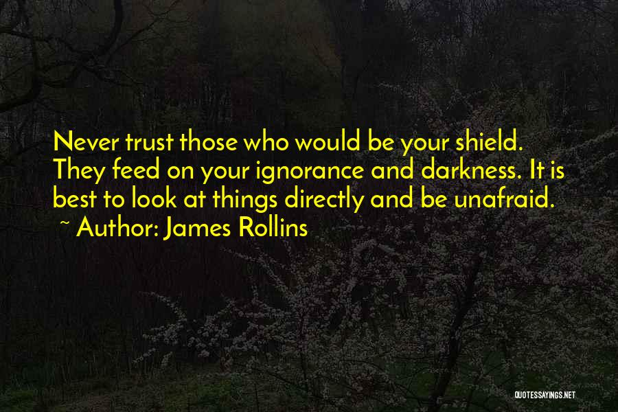 You Are My Shield Quotes By James Rollins