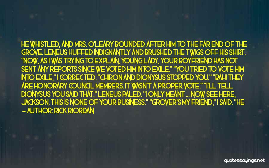 You Are Not A Good Friend Quotes By Rick Riordan