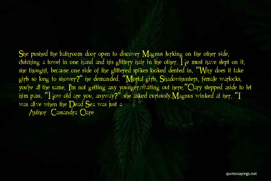 You Are Not Here When I Need You Quotes By Cassandra Clare
