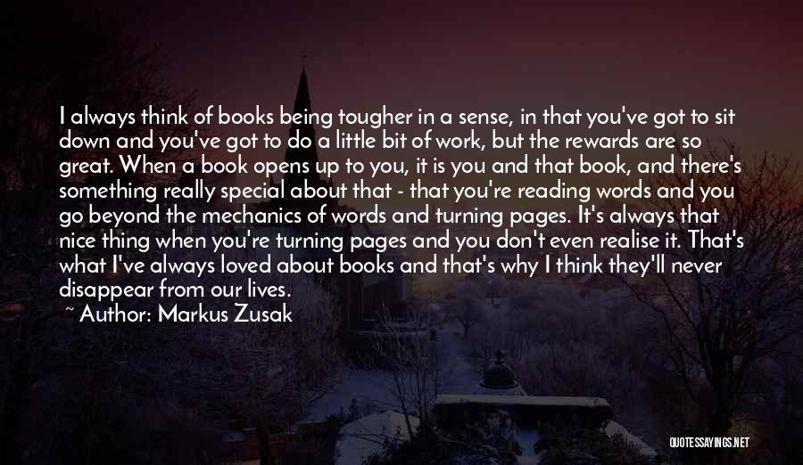 You Are Something Special Quotes By Markus Zusak