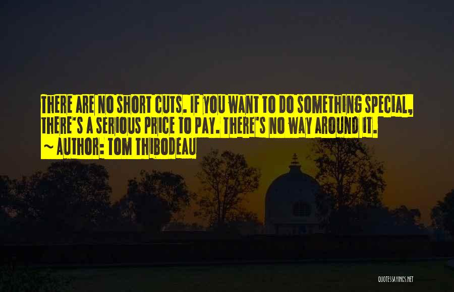 You Are Something Special Quotes By Tom Thibodeau