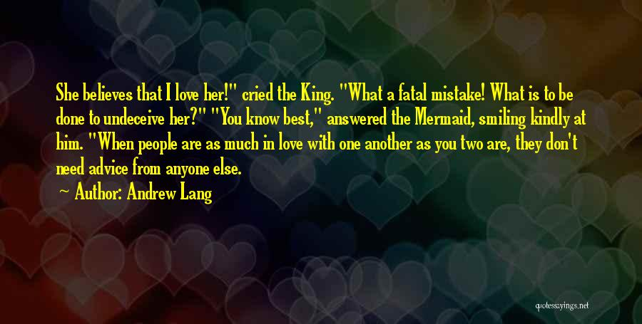 You Are The Best One Quotes By Andrew Lang