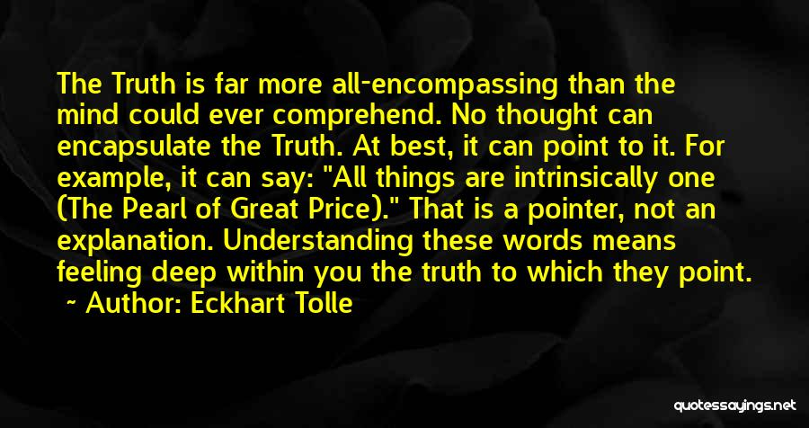 You Are The Best One Quotes By Eckhart Tolle