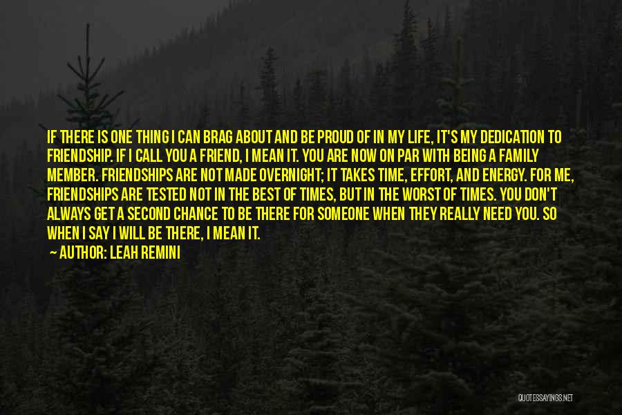 You Are The Best One Quotes By Leah Remini