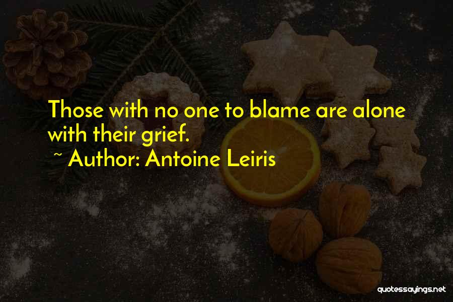 You Are The Only One To Blame Quotes By Antoine Leiris