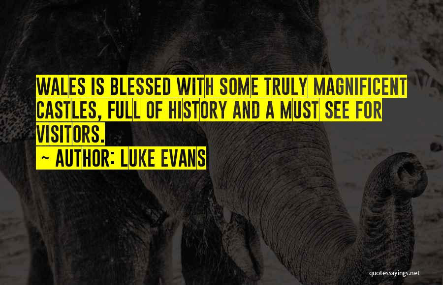 You Are Truly Blessed Quotes By Luke Evans