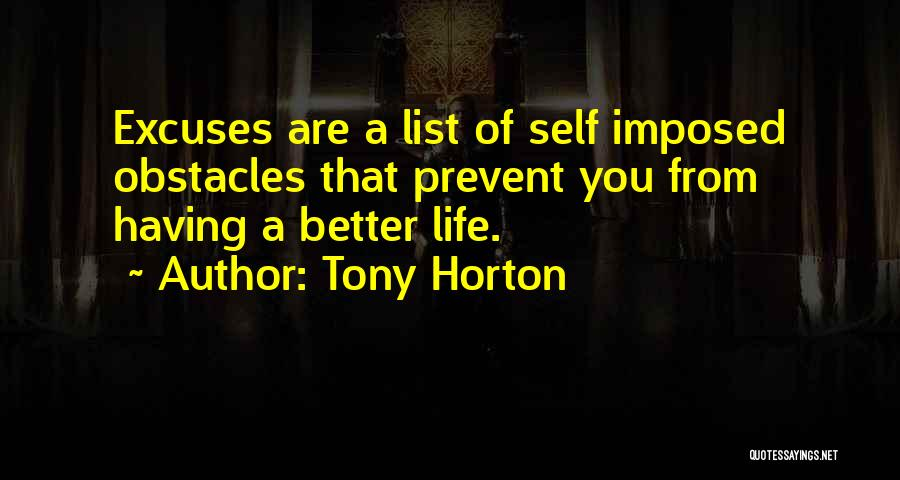 You Better Off Without Me Quotes By Tony Horton