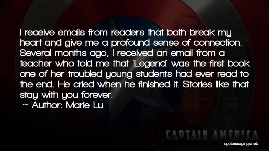 You Break Her Heart Quotes By Marie Lu